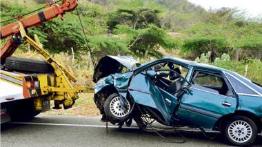 Más de 130 mil accidentes de tránsito han sido reportados en el Runt este año