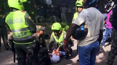 Balacera en Bocagrande deja tres personas heridas