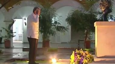 Raúl Castro rindió un homenaje a Gabo en Cartagena tras la firma de la paz