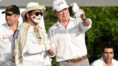 """Santos llama al Caribe a votar el domingo para """"salvar vidas"""""""
