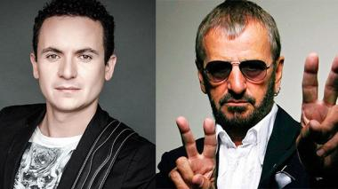 El exBeatle Ringo Starr y el colombiano Fonseca le cantan a la paz en