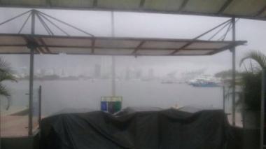 Por lluvias, jurado y material electoral será llevado en helicóptero a Islas del Rosario