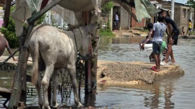 Coletazo de huracán afectó 8.456 familias en Cartagena y Bolívar