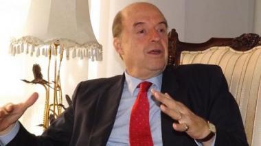 Álvaro Leyva, exministro y asesor de las Farc.