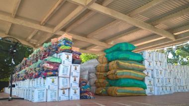 En el Magdalena UNGRD entrega ayuda a afectados por