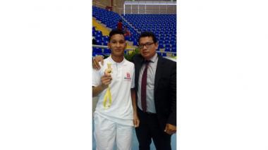 Juan Ruiz volvió a ser campeón en judo