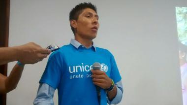 Nairo Quintana en La Guajira.