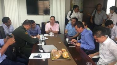 Berdugo presidió la reunión en el Área Metropolitana.