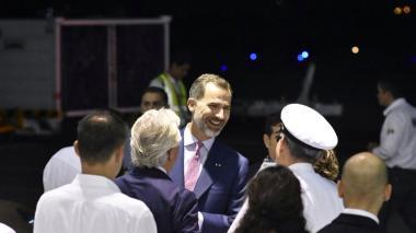 Rey Felipe VI y Peña Nieto ya están en Cartagena para la XXV Cumbre Iberoamericana