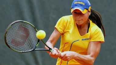 María Fernanda Herazo sigue sumando puntos WTA.