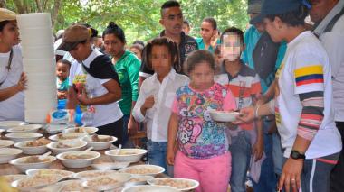 """En el almuerzo de la Vigilia: """"fueron 500 presas en el sancocho"""""""