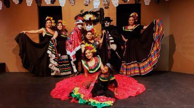 El garabato puso a celebrar a la muerte mexicana