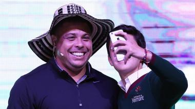 """""""Colombia es una fábrica de cracks como Bacca, Falcao y James Rodríguez"""": Ronaldo"""