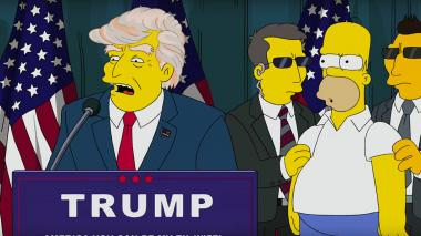 'Los Simpsons' y 'Volver al futuro' predijeron que Trump sería presidente