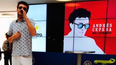Andrés Cepeda fue víctima de un atraco en Medellín