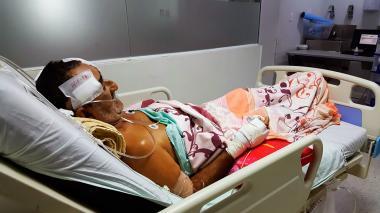 """""""Tuve suerte gracias a Jesucristo y la Virgen"""": anciano herido a machete"""