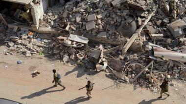 """Reino Unido pide a Rusia detener la """"matanza"""" en Siria"""