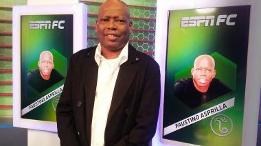 Faustino 'El Tino' Asprilla es panelista del programa 'ESPN FC'.