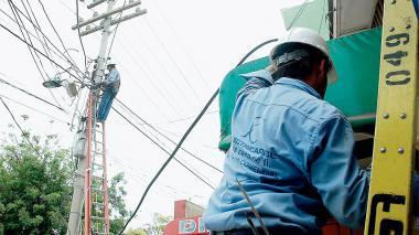 Los cortes serán por arreglos en el servicio de energía.