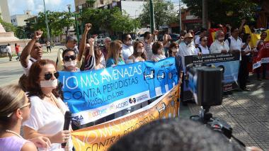 Gremio se solidariza frente a amenaza a periodista