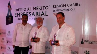 Premio Mérito Empresarial galardonó a empresas del Atlántico