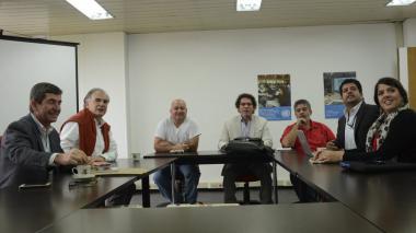 Alape y Lozada se reunieron en Bogotá con verificadores de ONU