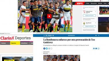 Diarios deportivos hablan de la expulsión de Teo