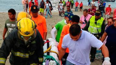 Hallan a un hombre muerto en aguas de la Bahía de Santa Marta