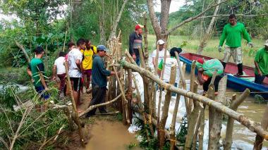 Invierno causa estragos en varias zona de la Región Caribe