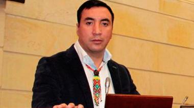 Germán Carlosama, representante del Partido Autoridades Indígenas de Colombia.
