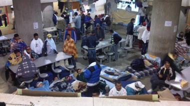 Imagen del interior de la cárcel La Picota de Bogotá.