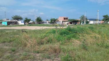 En esta zona ocurrió el asesinato del adolescente.