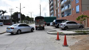En este punto de la calle 3A con carrera 25, Villa Campestre, ocurrió el hecho.