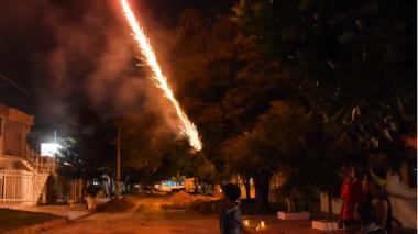 Se eleva a ocho el número de quemados con pólvora en Barranquilla