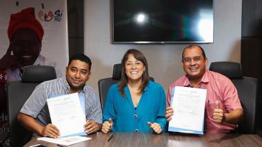 Alcaldes Zapayan y Concordia - Dir. Prosperidad Social Tatyana Orozco