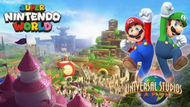 Conozcan la primera imagen conceptual del parque de Nintendo en Japón
