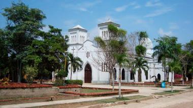 Vista de la población de Salamina, en Magdalena.