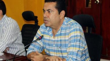 Antonio Salim Guerra, cabildante del partido Cambio Radical.