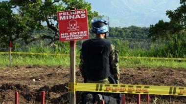 En Zambrano, tres veredas aún tienen minas antipersona