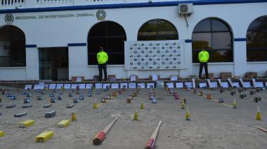 Policía incauta tonelada de pólvora en Montería