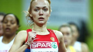 Anastasiya Bazdyreva, atleta rusa sancionada por el TAS.