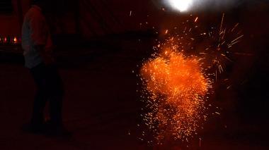 Cero quemados con pólvora durante Navidad en Barranquilla