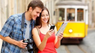 Cada vez es más frecuente el uso de aplicaciones, en lugar de mapas o guías.