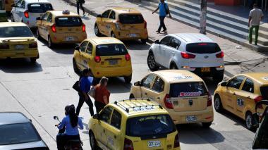El calendario completo del pico y placa para taxis