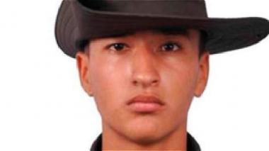 Carlos Andrés Rubio Domínguez, el auxiliar de Policía que resultó muerto.