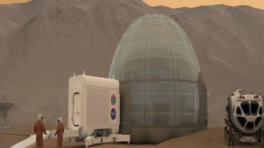 Aquí vivirán los humanos que habiten Marte, según la Nasa