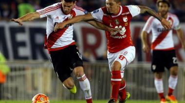 Leonardo Pico disputó nueve encuentros con Santa Fe.