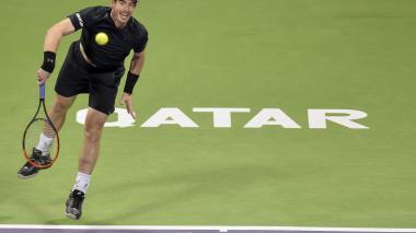El británico Andy Murray, número uno del mundo, se impuso al español Nicolás Almagro, con parciales de 7-6 (4) y 7-5.