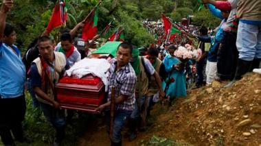 Asesinan a líder indígena en el Cauca