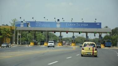 El peaje de Sabanagrande es controlado por la Concesión Ruta Caribe.